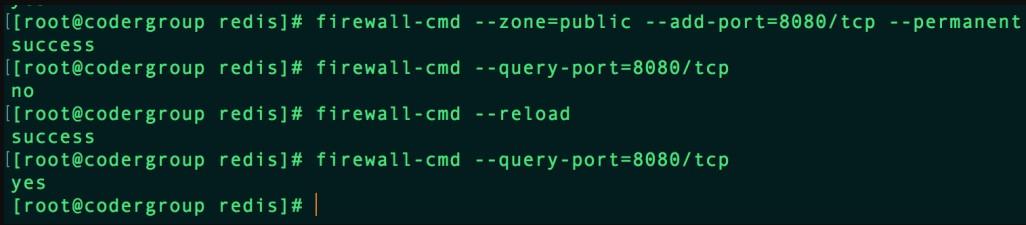 云服务器CentOS7使用firewalld打开关闭防火墙与端口方法