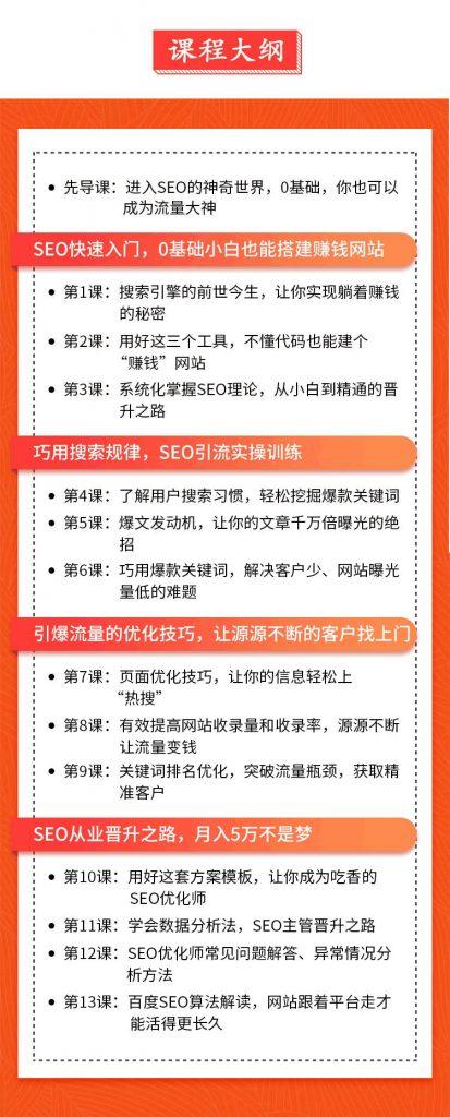 【赣州 SEO】零 基础学 SEO 视频教程免费百度云盘分享下载